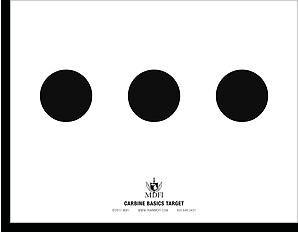 Carbine Basics Target 1