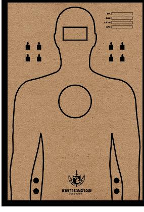 MDFI Cardboard Target