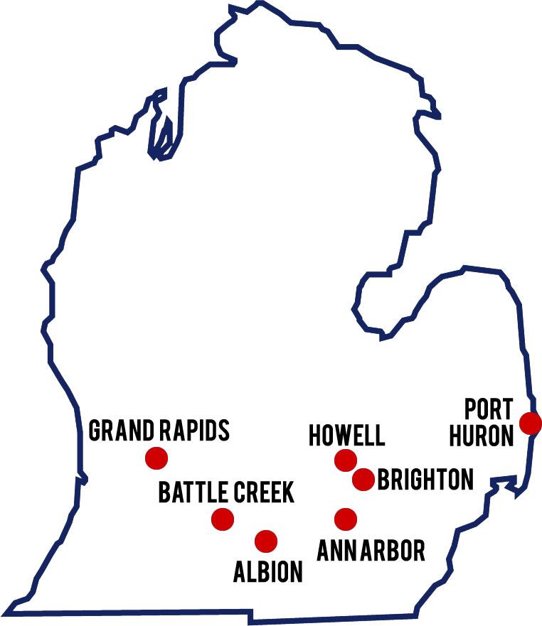 MDFI Locations