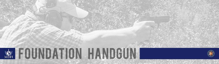 MDFI Foundation Handgun