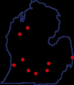 MDFI Training Locations