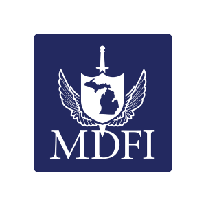 MDFI Square Sticker